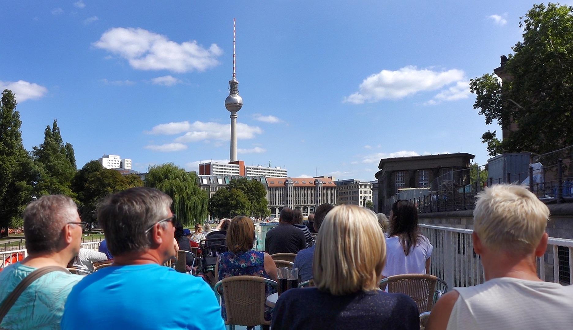 Dampferfahrt Berlin - Fernsehturm