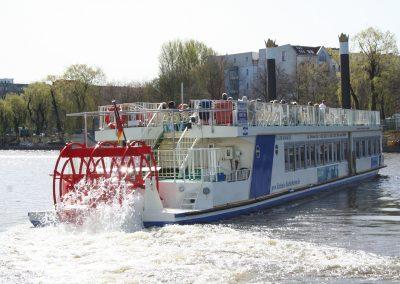 Schifffahrt Berlin MS Europa