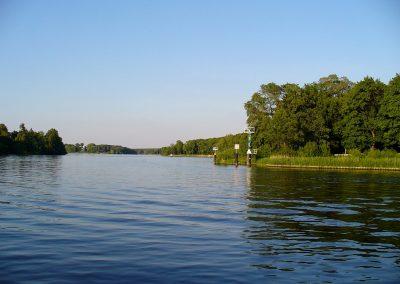 Schifffahrt Berlin Potsdam - Havel