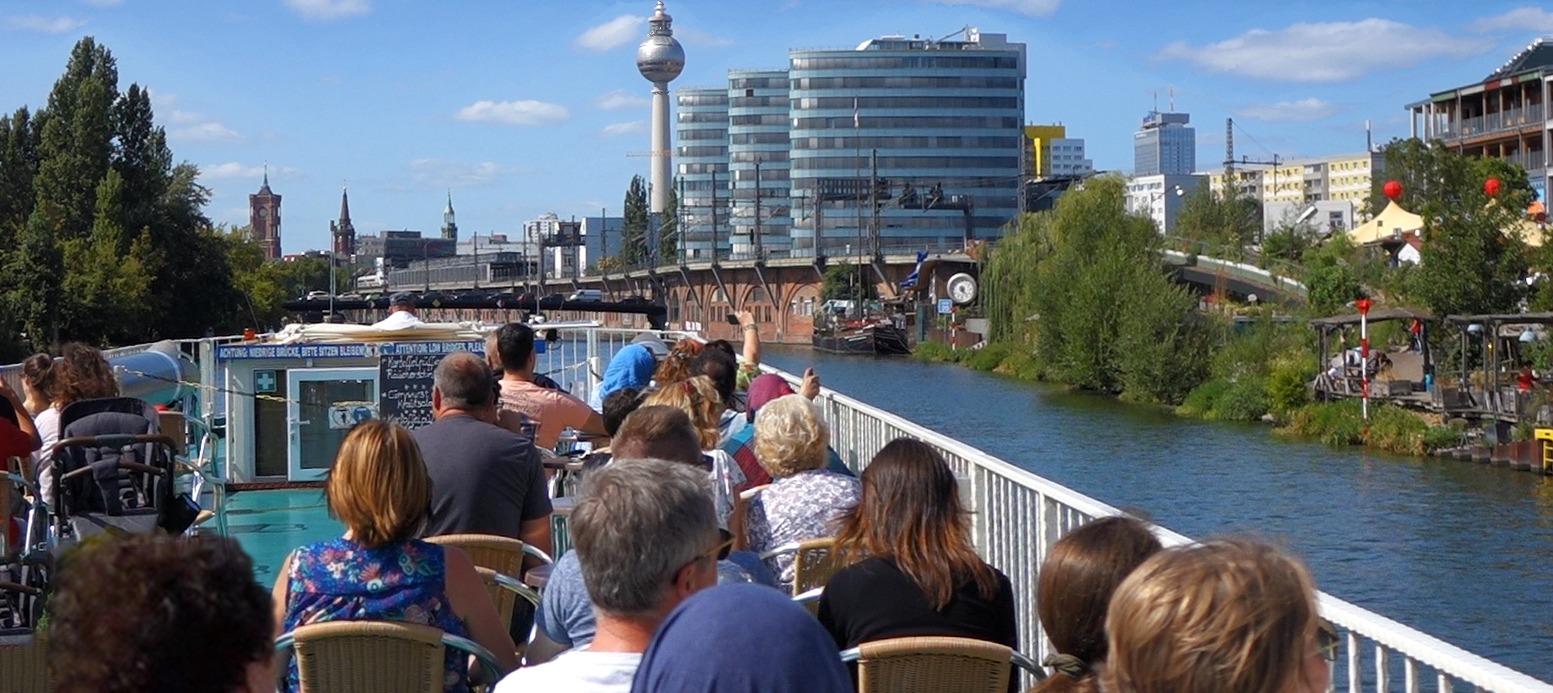 10 Highlights auf der Dampferfahrt Berlin Innenstadt