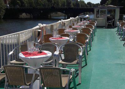 Hochzeit - Deko - Ms Europa - Schiff chartern Berlin