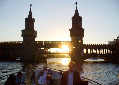 Sonnenuntergang - Ms La Belle - Schiff mieten Berlin