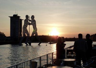 Sonnenuntergang - Ms Europa - Schiffsvermietung Berlin