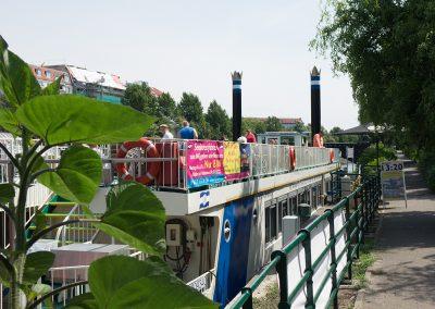 Schifffahrt Berlin - Anlegestelle Holsteiner Ufer 32